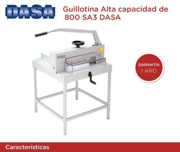 Guillotina 800 SA3 + Lus de corte - Industrial